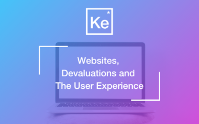 Websites, Devaluations and The User Experience: