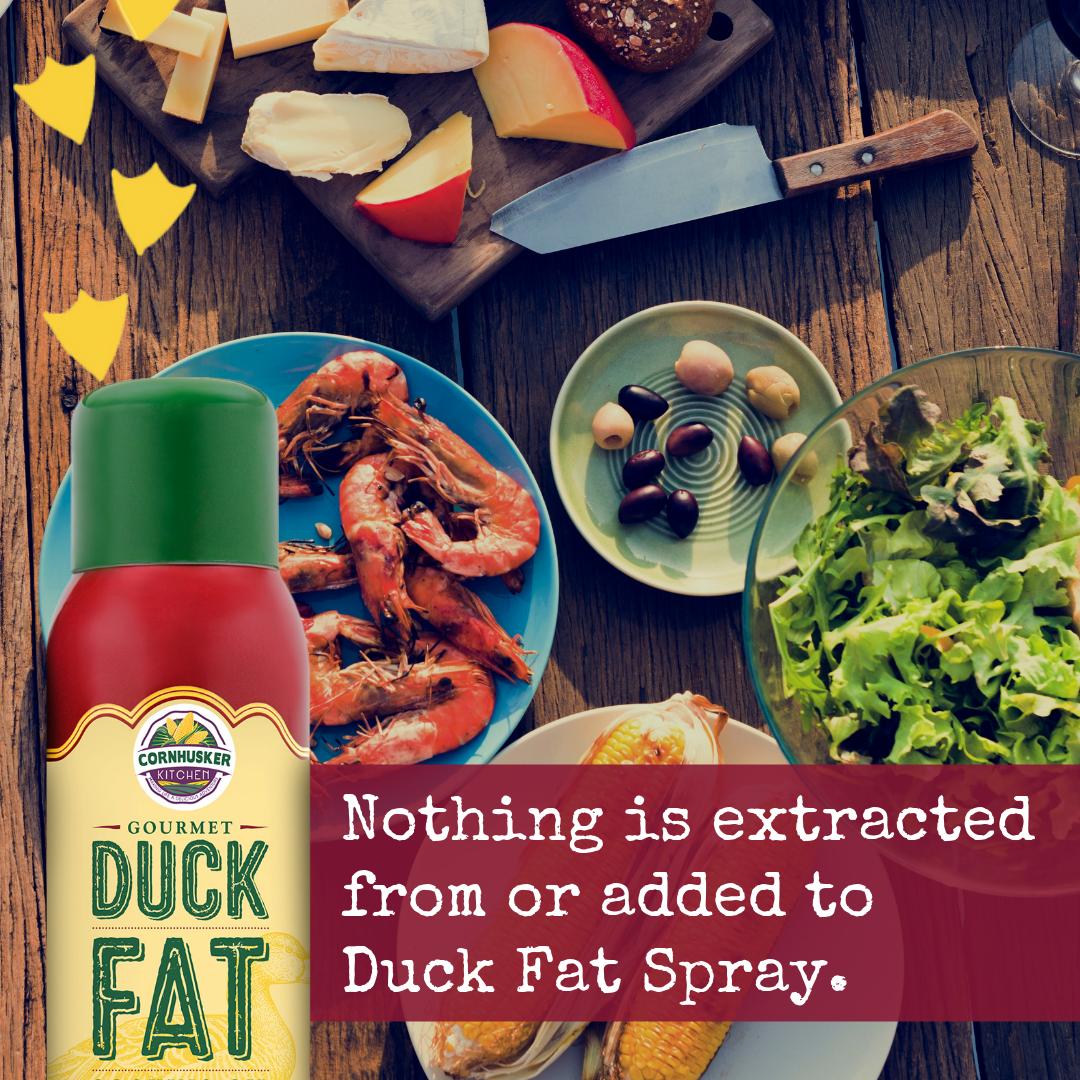 Social Media Post for Duck Fat Spray