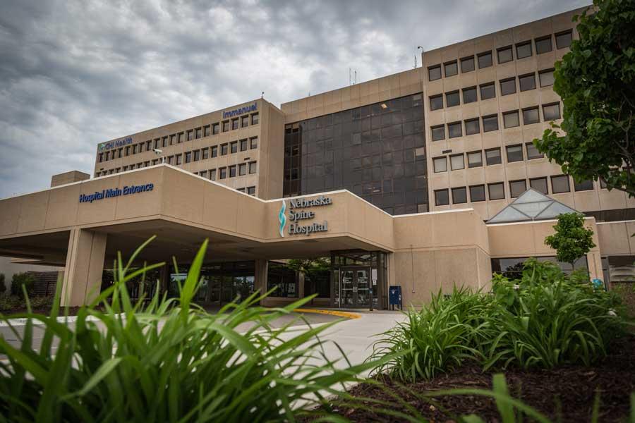 Nebraska Spine Hospital Building Exterior