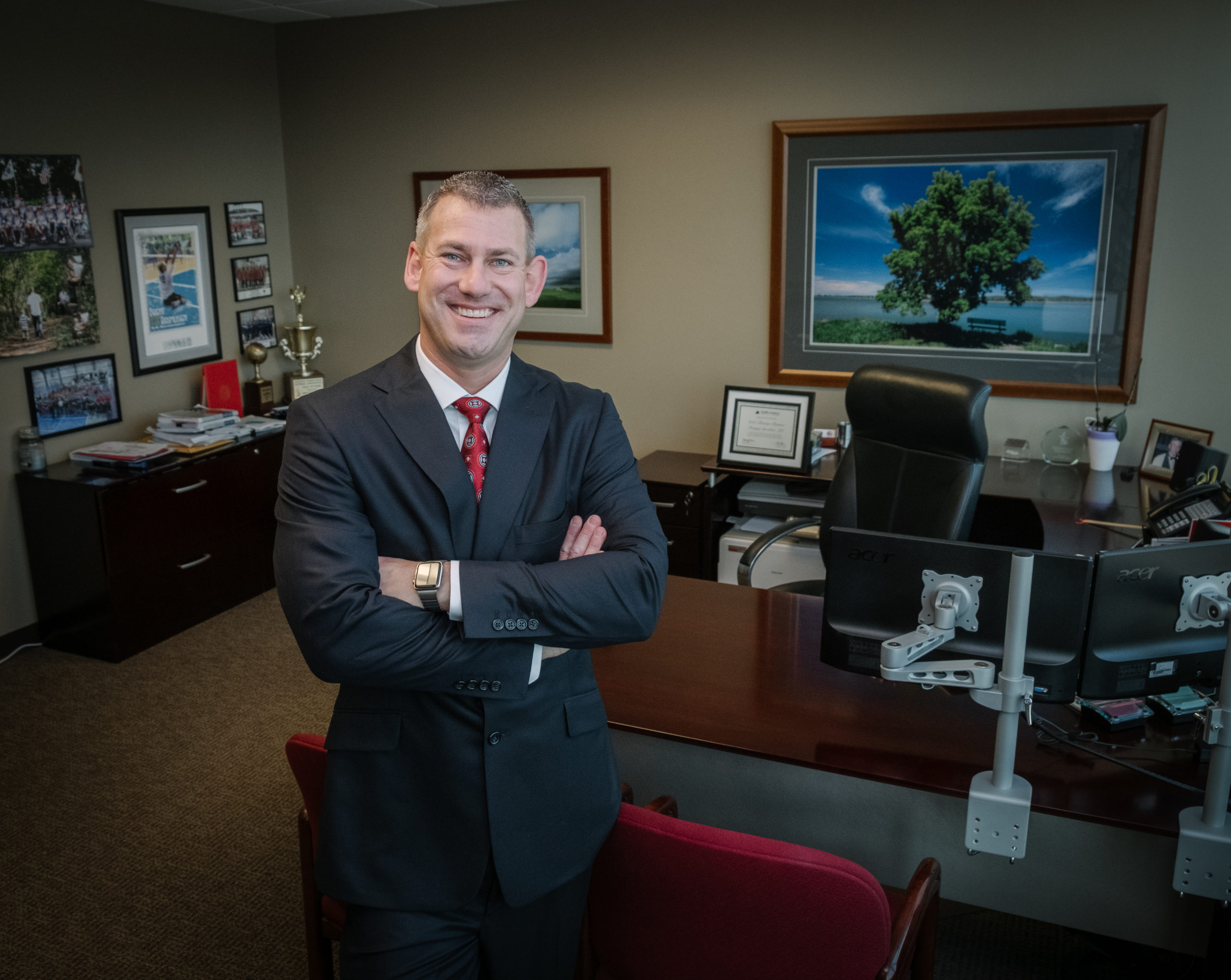 Brent Rasmussen, Mortgage Specialists, President