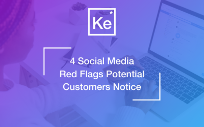 4 Social Media Red Flags Potential Customers Notice