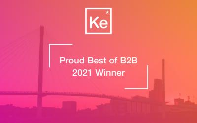 Proud Best of B2B 2021 Winner