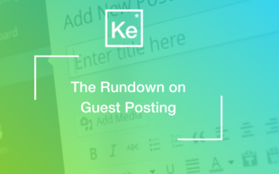 The Rundown on Guest Posting